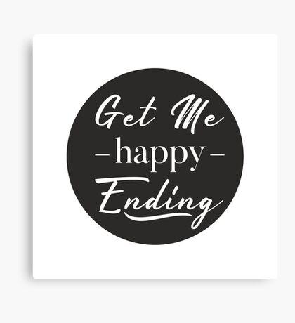 happy ending Canvas Print
