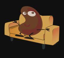 Couch Potato Baby Tee
