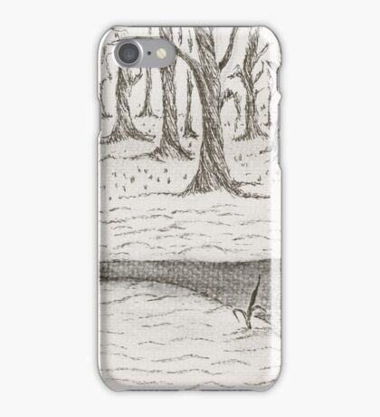 Cold winters day iPhone Case/Skin