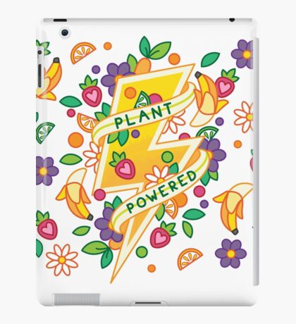 Plant Powered iPad Case/Skin