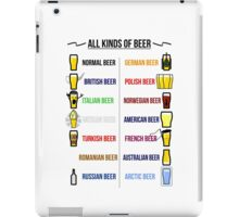 Stereotypical Beer iPad Case/Skin