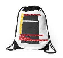 Bauhaus Monolith Drawstring Bag
