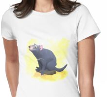 Terry the Tasmanian Devil Womens Fitted T-Shirt