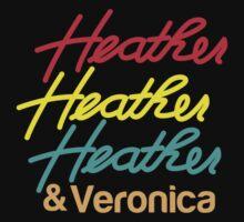 HEATHER HEATHER HEATHER & Veronica Baby Tee