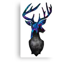 Double Exposure Harry Potter Stag Hogwarts Silhoutette Canvas Print