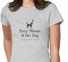 Every Woman & Her Dog Womens Fitted T-Shirt