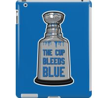 The Cup Bleeds Blue - New York Rangers Stanley Cup Playoff Shirt iPad Case/Skin