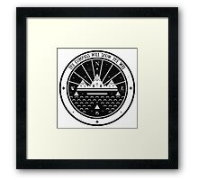 The Compass  Framed Print