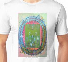 Brasil – Argentina III , 2014, by Diego Manuel Unisex T-Shirt
