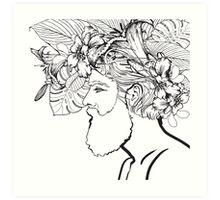 I Lilly Like Your Beard Art Print
