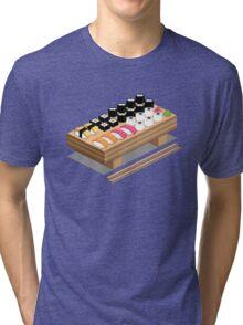 Isometric Sushi Tri-blend T-Shirt