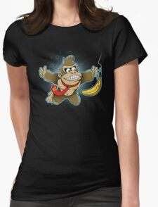DONKEYMIND Womens Fitted T-Shirt