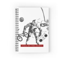 Fall of the Idiot Spiral Notebook