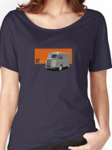 T-shirt Car Art - Citroen HY Van Women's Relaxed Fit T-Shirt