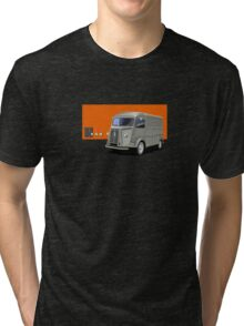 T-shirt Car Art - Citroen HY Van Tri-blend T-Shirt