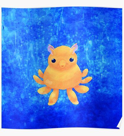 Dumbo Octopus Poster