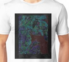 USGS TOPO Map Rhode Island RI East Greenwich 353284 1957 24000 Inverted Unisex T-Shirt