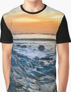 grey rocks at rocky beach Graphic T-Shirt