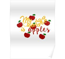 My safe word is apples Poster