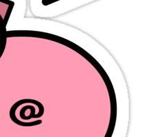 Oink Pig Sticker