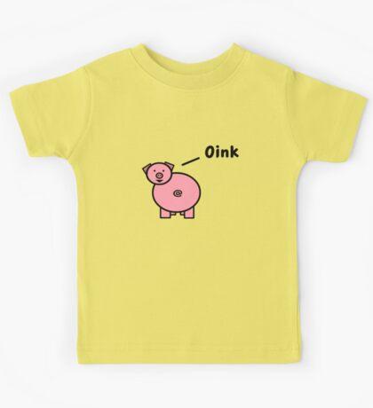 Oink Pig Kids Tee