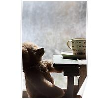 Teddy Bear Dreaming Poster