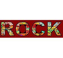 Rock graffiti Photographic Print
