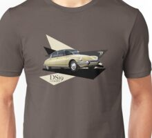 T-shirt Car Art - Citroen DS19  Unisex T-Shirt