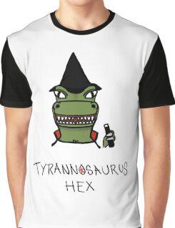 Tyrannosaurus Hex - Front view Graphic T-Shirt