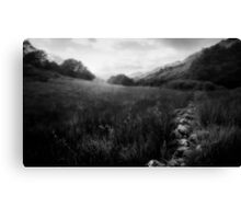 The Lost Valley Canvas Print