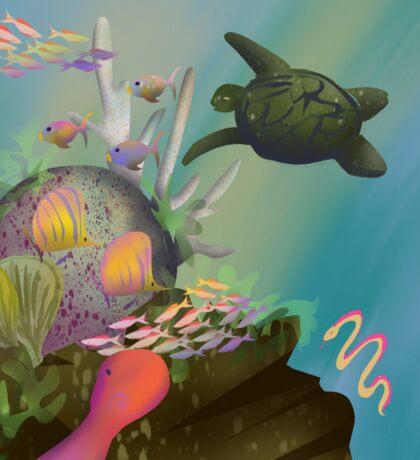 Coral Reef Sticker