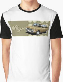 T-shirt Car Art - Austin Allegro Graphic T-Shirt