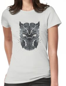 Blot Panther Womens Fitted T-Shirt