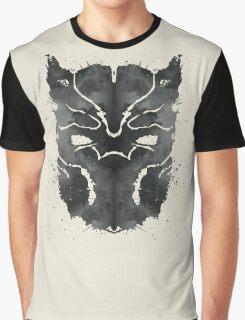 Blot Panther Graphic T-Shirt