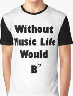Music B Flat Graphic T-Shirt