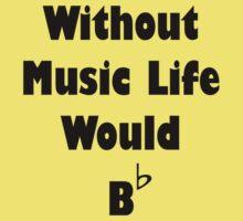 Music B Flat One Piece - Short Sleeve