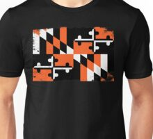 Baltimore Orioles Orange Maryland Print Unisex T-Shirt