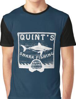 Quints Shark Fishing Graphic T-Shirt