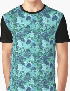 Aquamarine Jewels Graphic T-Shirt