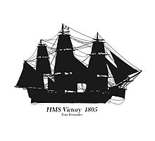HMS Victory 1805, tony fernandes Photographic Print