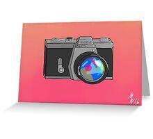 Minolta Sniper Greeting Card