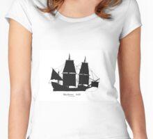 Mayflower 1620, tony fernandes Women's Fitted Scoop T-Shirt