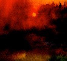Landscape Hardy...Wessex Tales 2 Sticker
