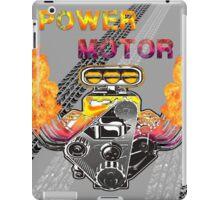 Power motors V8  iPad Case/Skin