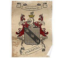 Stockstill Coat of Arms (England) Poster
