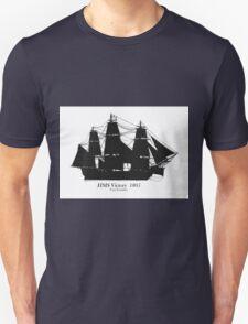HMS Victory 1805, tony fernandes T-Shirt