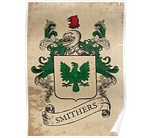 Smithers Coat of Arms (England) Poster