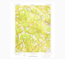 USGS TOPO Map Connecticut CT Montville 330673 1958 24000 Unisex T-Shirt