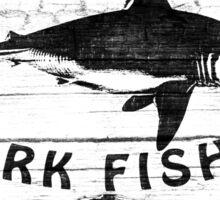 Shark Fishing Sticker