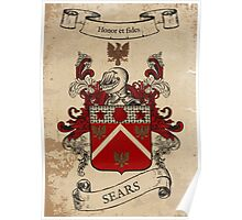 Sears Coat of Arms (England) Poster